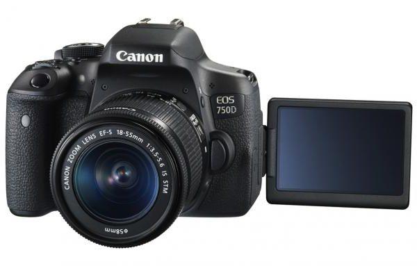 Canon EOS 750D + EF-S 18-55mm IS STM Garanzia 2 anni Italia-Pronta ...